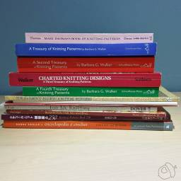pile of stitch dictionaries