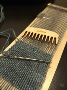 sample weaving anzula milky way