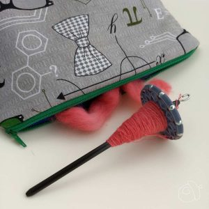 Elemental Fiberworks & Akerworks mini spindle