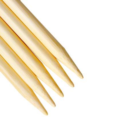 Tips of bamboo ChiaoGoo DPNs