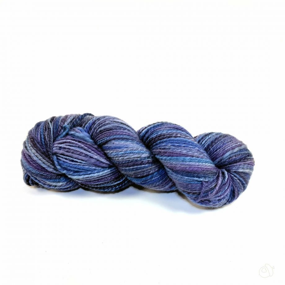 variegated blue handspun